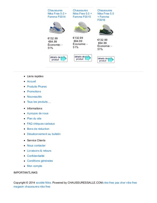 Chaussures Nike Free 5.0 + Femme F0014 €132.99 €64.99 Économie: - 51% Chaussures Nike Free 5.0 + Femme F0015 €132.99 €64.9...