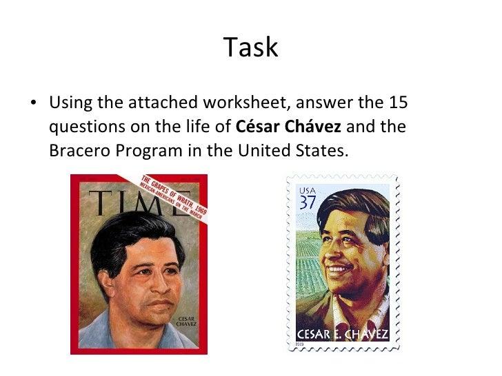 Chavez web quest – Cesar Chavez Worksheet