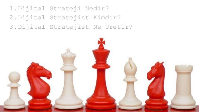 1.Dijital Strateji Nedir? 2.Dijital Stratejist Kimdir? 3.Dijital Stratejist Ne Üretir?