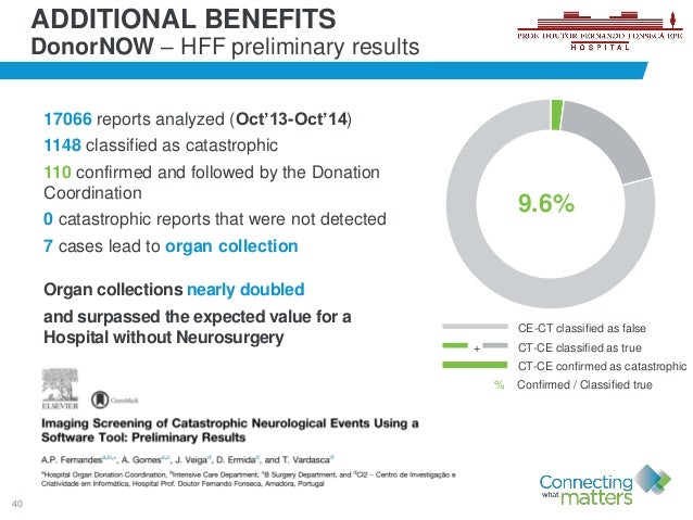 40 17066 reports analyzed (Oct'13-Oct'14) 1148 classified as catastrophic 110 confirmed and followed by the Donation Coord...