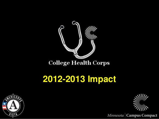 2012-2013 Impact