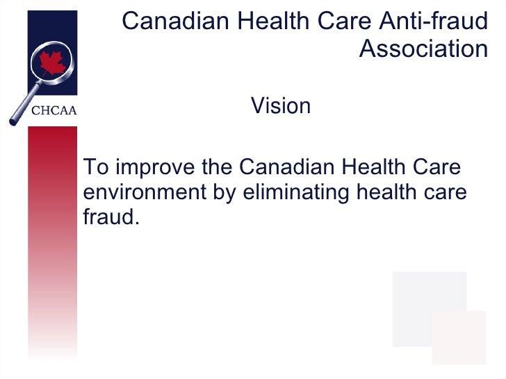 CHCAA - Healthcare Fraud Myths Slide 2