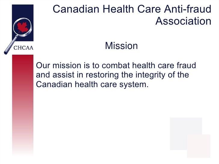 CHCAA - Healthcare Fraud Myths Slide 3