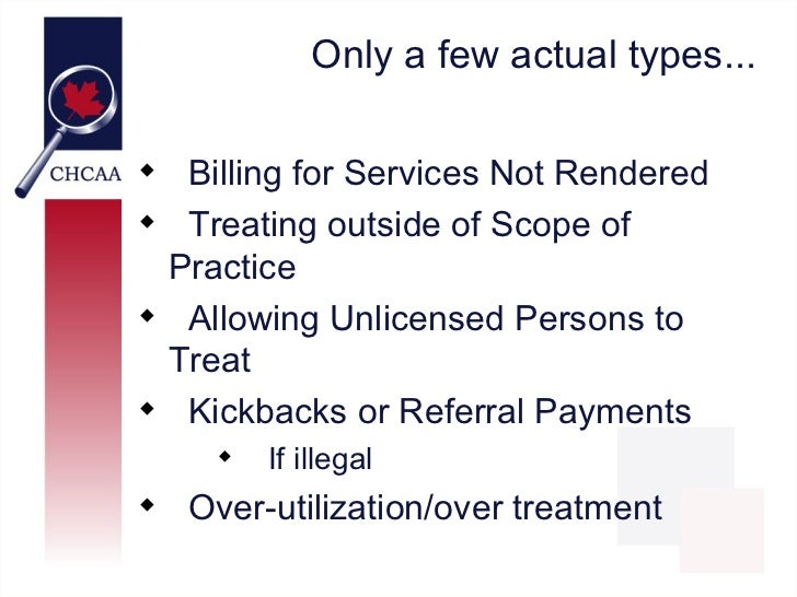 Health Care Fraud: Whose Problem is it? Slide 3