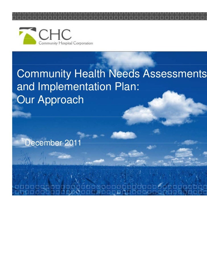 health needs Health needs are often measured using the following:.