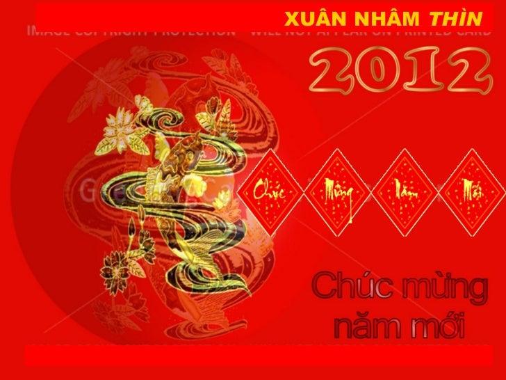 XUÂN NHÂM  THÌN Minh Nguyen