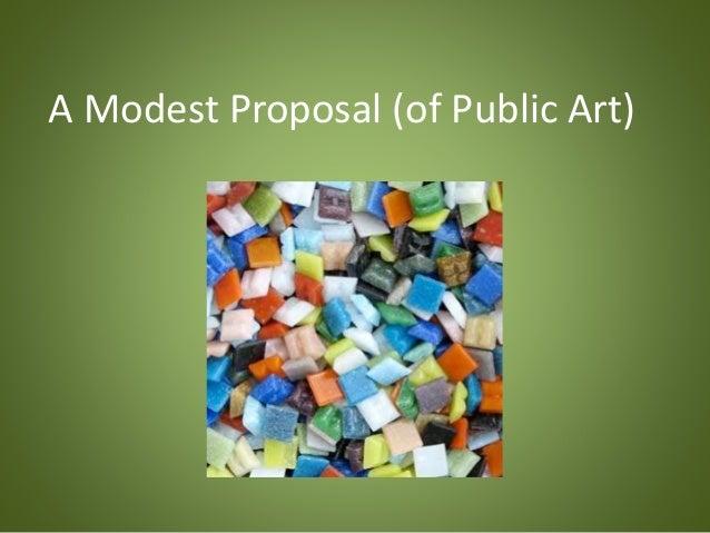 A Modest Proposal (of Public Art)