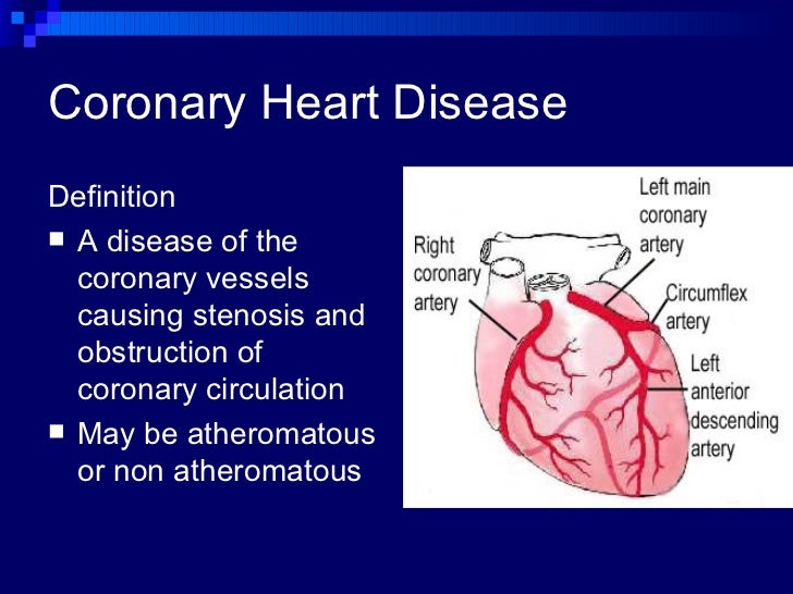 medical definition of coronary artery disease autos post