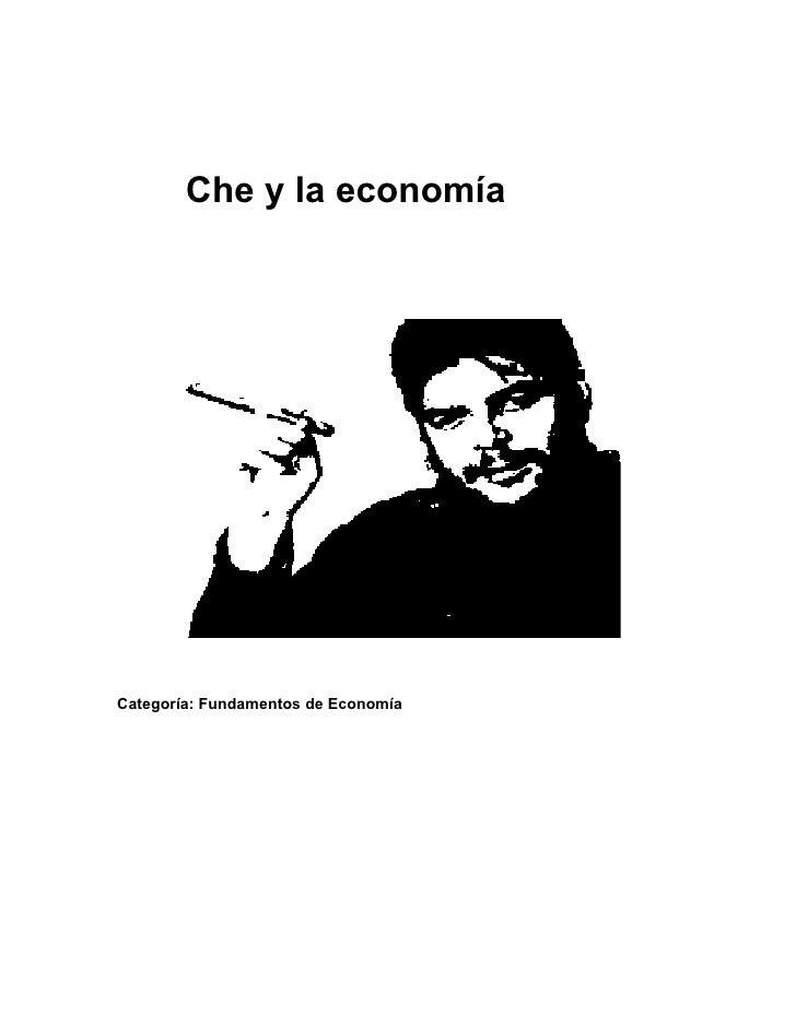 Che y-su-aporte-a-la-economia