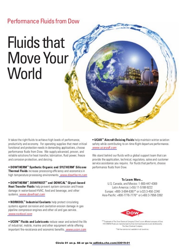 Performance Fluids from DowFluids thatMove YourWorldIt takes the right fluids to achieve high levels of performance,       ...