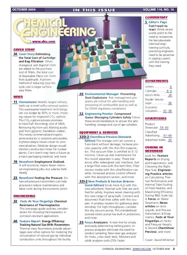 OctOber 2009                                    In ThIs Issue                                           VOlume 116, n 10  ...