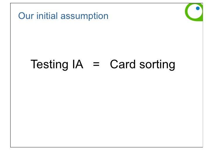 card sorting spencer donna