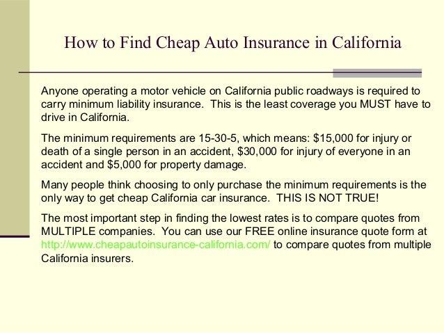 cheap auto insurance in california. Black Bedroom Furniture Sets. Home Design Ideas