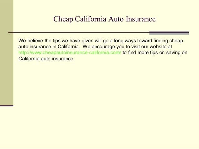Insurance California Free Cheap Insurance: Cheap Auto Insurance In California