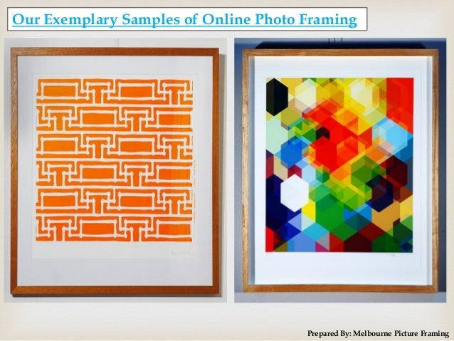 Cheap Online Custom Photo Frames By Melbourne Picture Framing