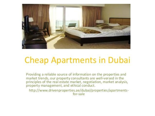 Cheap apartments in dubai