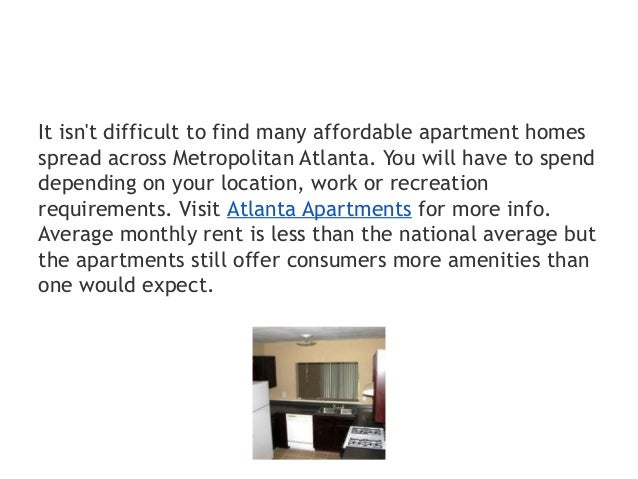 Cheap Atlanta apartments