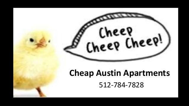 Cheap Austin Apartments 512-784-7828