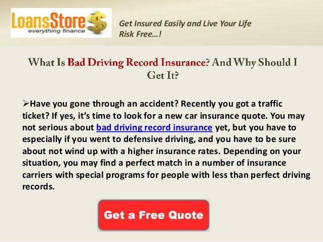 get cheap auto insurance for bad driving records best insurance for. Black Bedroom Furniture Sets. Home Design Ideas
