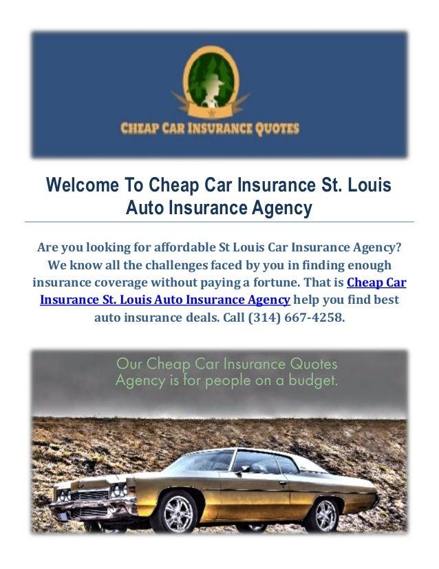 Cheap Best Car Insurance In St Louis Mo