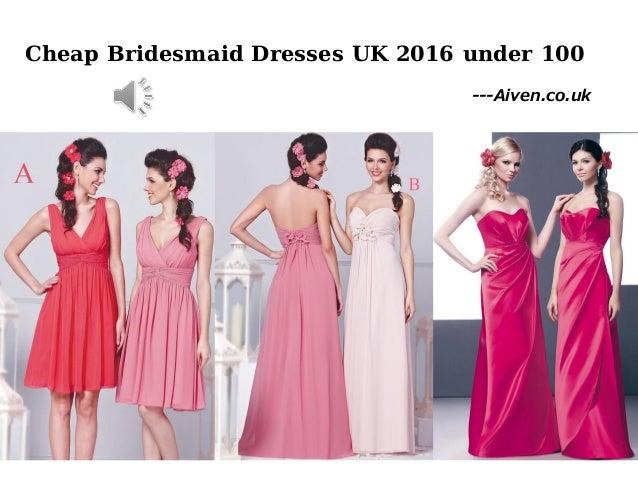 Inexpensive Bridesmaid Dresses