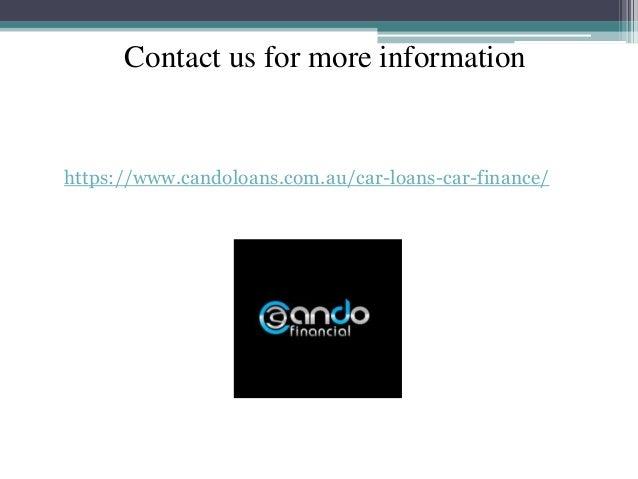 Contact us for more information https://www.candoloans.com.au/car-loans-car-finance/