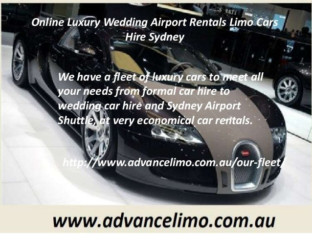 2 Online Luxury Wedding Airport Rentals Limo Cars Hire Sydney