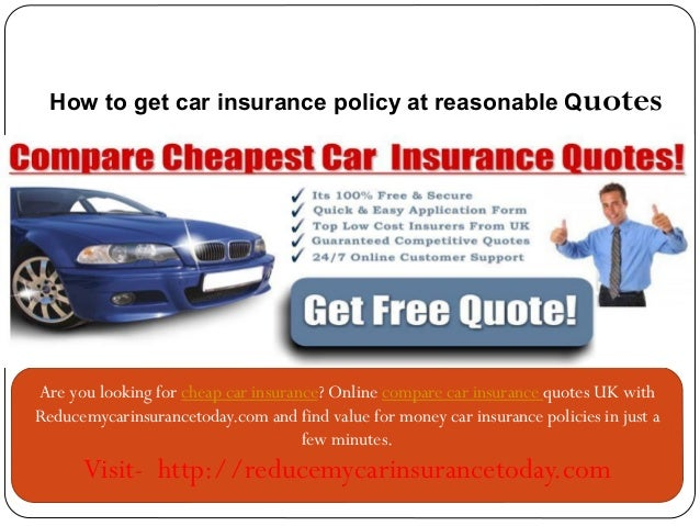 Cheap Car Insurance Online Compare Car Insurance Reducemycarinsuranc