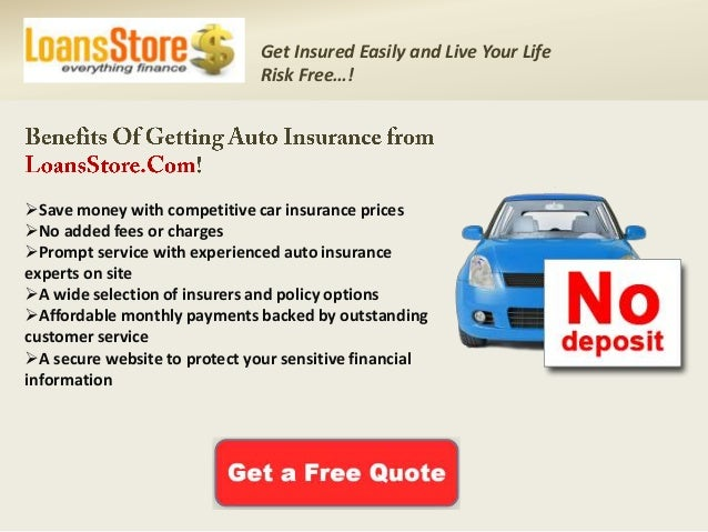 Car insurance no deposit required ireland