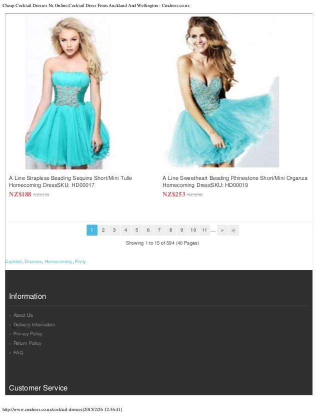 Cheap Cocktail Dresses Nz Online Cocktail Dress From Auckland And Wel