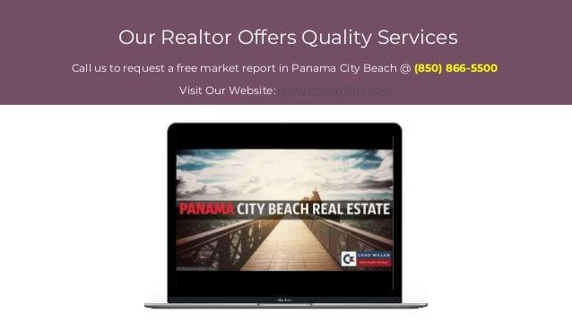 Condos in Panama City Beach FL  (850) 866-5500 - chad miller - panama city beach realtor Slide 2