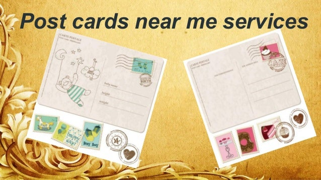 Post Cards Near Me Services ...