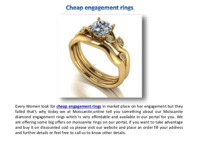 Online Cheap Engagement Rings