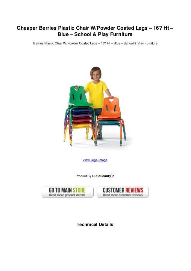 Delicieux Cheaper Berries Plastic Chair W/Powder Coated Legs U2013 16?