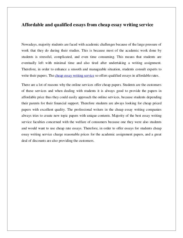 cheap research paper writers