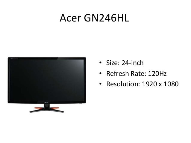 how to use 120hz monitor
