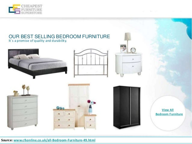 ... Bedroom Furniture; 10.