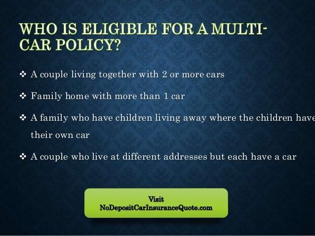 Multiple Insurance Quotes Custom Cheapest Multiple Car Insurance Quotes At Lowest Rates