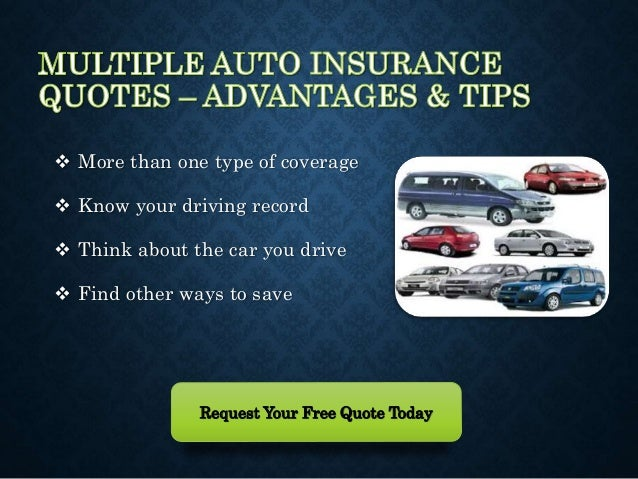 Multiple Insurance Quotes Extraordinary Cheapest Multiple Car Insurance Quotes At Lowest Rates