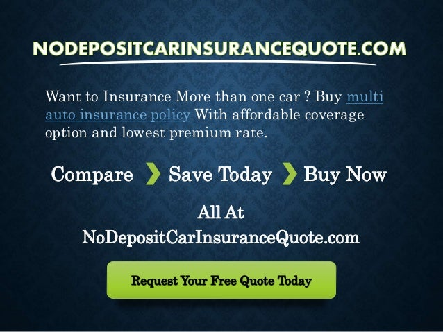 Multiple Insurance Quotes Mesmerizing Cheapest Multiple Car Insurance Quotes At Lowest Rates