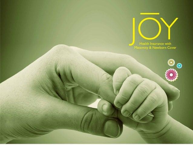 JOYHealth Insurance with Maternity & Newborn Cover