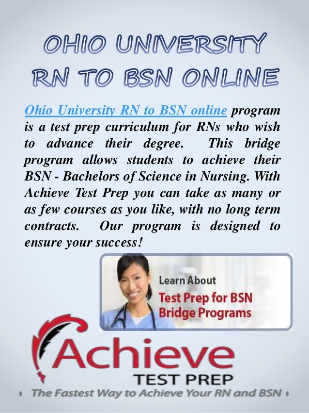 Nursing (RN to BSN)