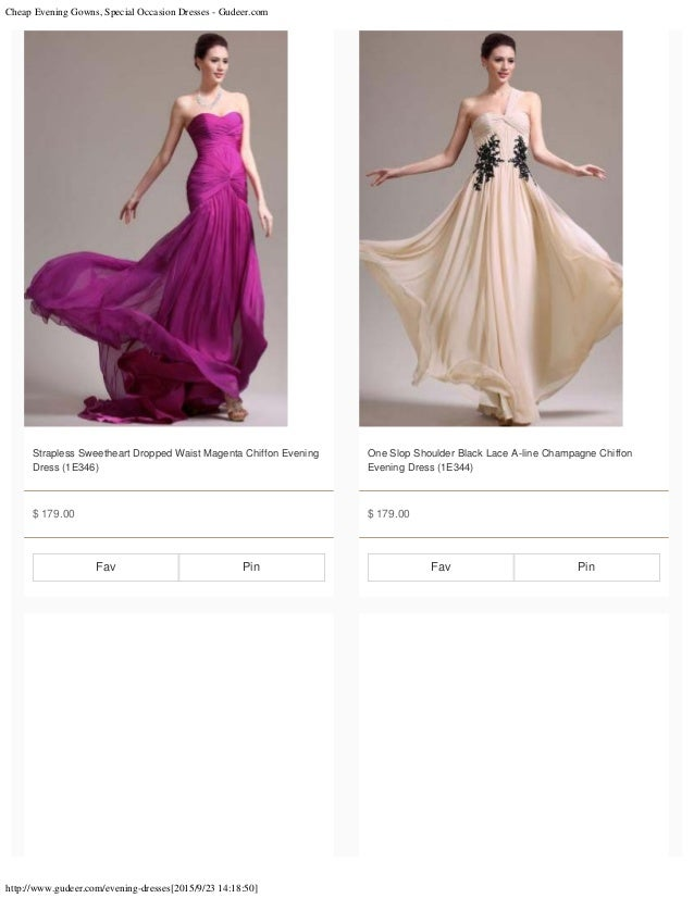 Cheap evening gowns, special occasion dresses gudeer.com