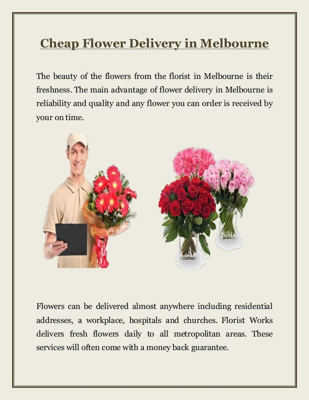 Cheap Flower Delivery Melbourne