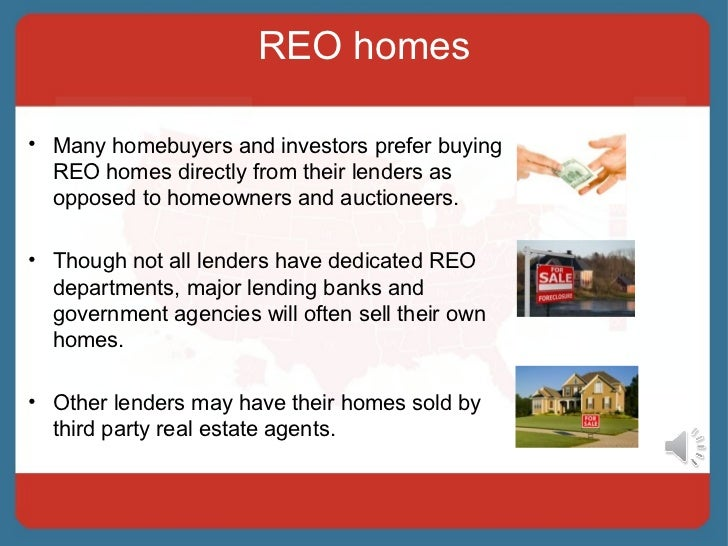 Buying Reo Homes. how to buy an reo property from the federal ...