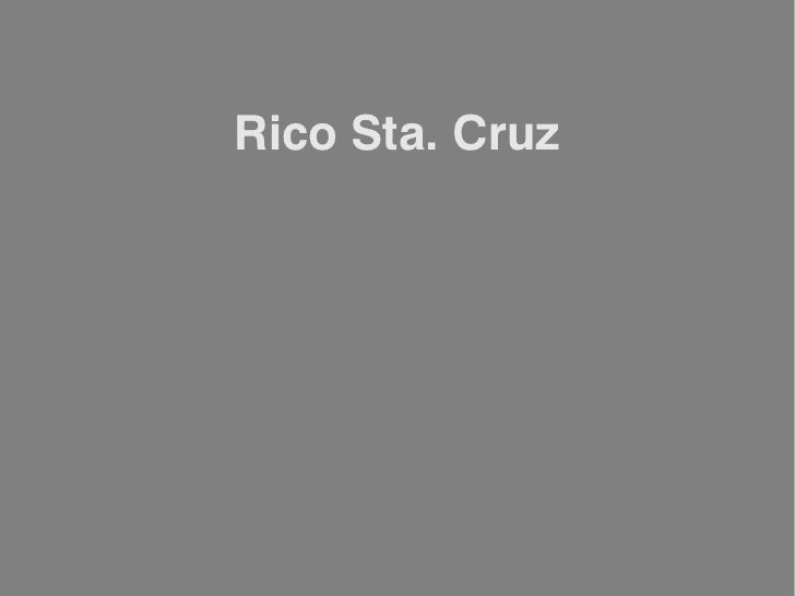 Rico Sta. Cruz