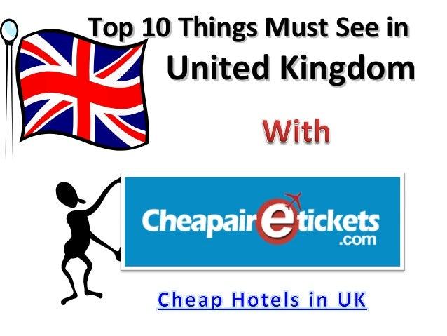 Top 10 Things Must See in      United Kingdom
