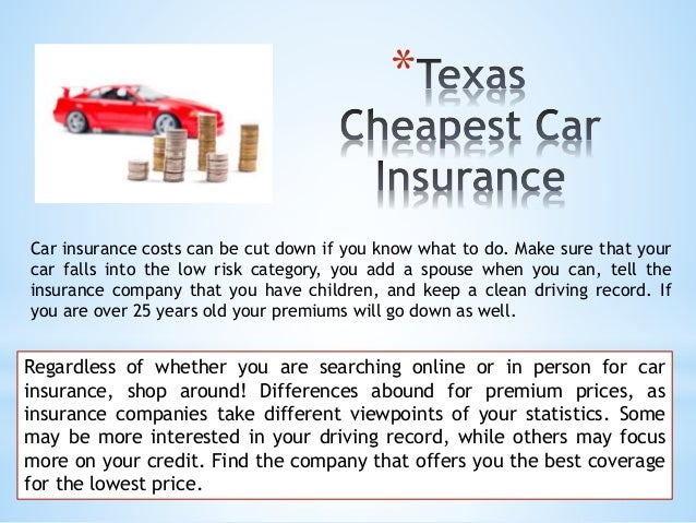 Cheap Car Insurance Hillsdale New Jersey: Cheap Insurance Rates In Texas