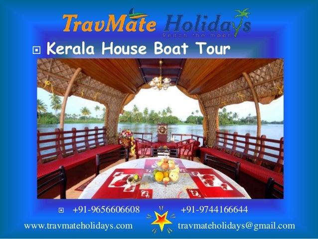 Best Kerala Houseboat Tour Packages Slide 2