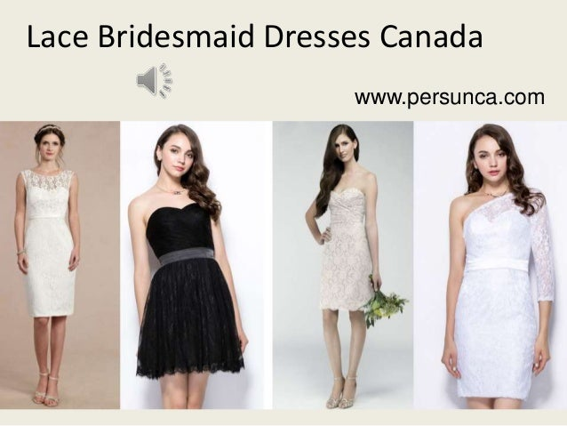 Cheap Bridesmaid Dresses Canada